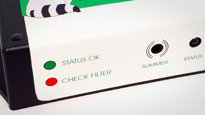 Racoon Miljöfilter AB indicator