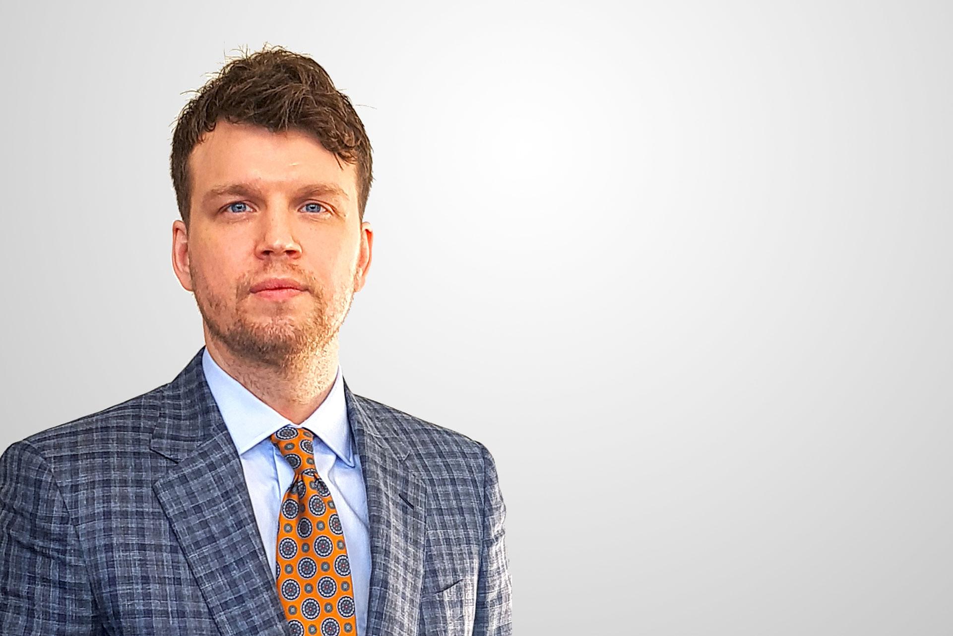 Kristoffer Sydlén, ny VD för Racoon Miljöfilter AB.
