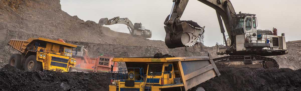 Maskiner i gruvmiljö